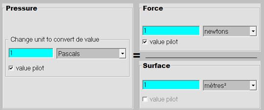 Absolute pressure and gauge pressure units