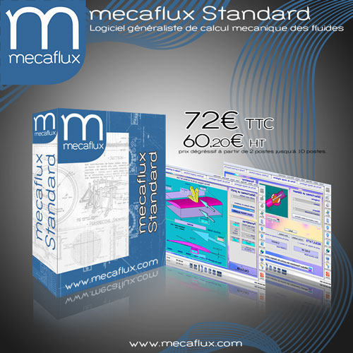 software fluid mechanics mecaflux